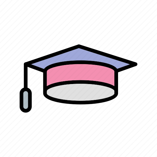 cap, diploma, graduate, graduation, student, university icon