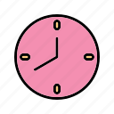 alarm, clock, hour, stopwatch, timepiece, watch icon