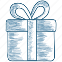 bonus, box, gift, package, present icon