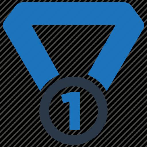 Medal, award, number one, reward icon - Download on Iconfinder