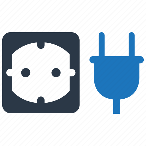 outlet, power, socket icon