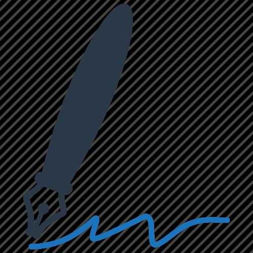 sign, signature, write, writing icon