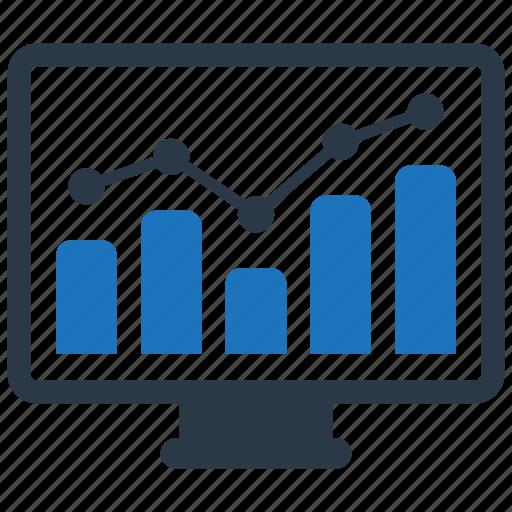 analytics, chart, report icon