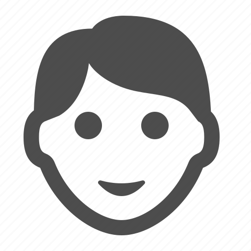 avatar, boy, head, man, people, user icon