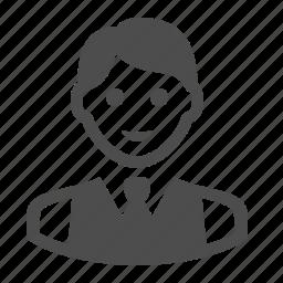 boy, man, people, student, suit, teacher, vest icon
