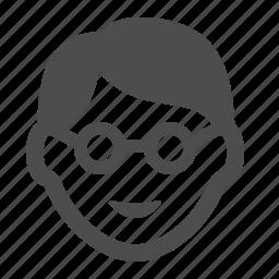 boy, man, people icon