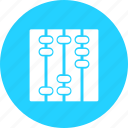 abacus, education, learn, learning, reading, study icon