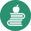 books, education, learn, learning, reading, study icon