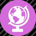 earth, education, globe, learn, learning, reading, study icon