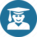 education, learn, learning, reading, student, study icon