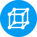 cube, education, learn, learning, reading, study icon