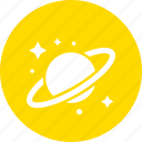 education, learn, learning, reading, saturn, study icon