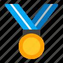 achievement, award, champion, medal, reward, success, winner icon