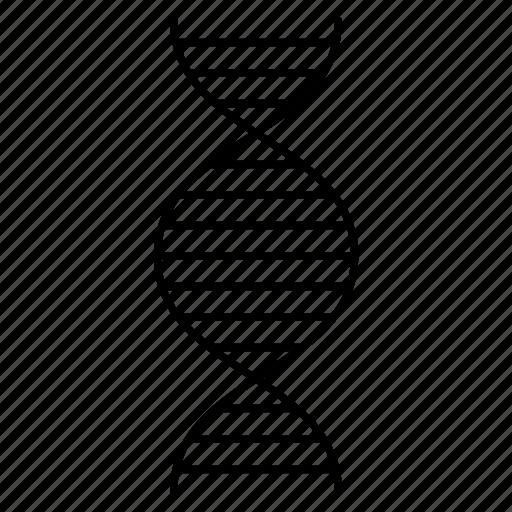 atoms, biology, dna, molecule, science icon