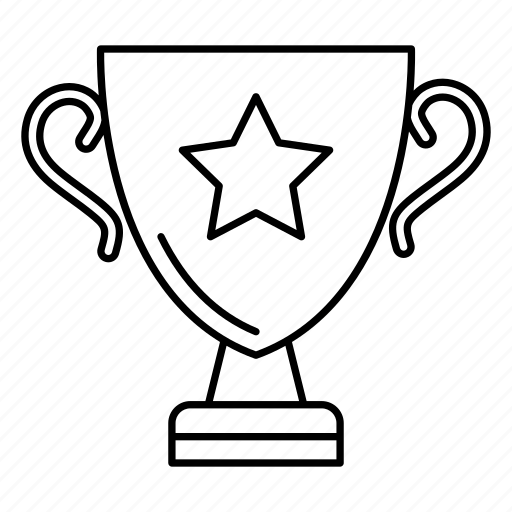 award, champion, prize, trophy, win icon