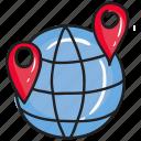 geolocation, global direction, global location, gps, navigation icon