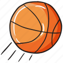 ball, basketball, football, sports accessory, sports equipment icon
