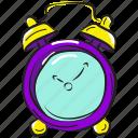 alarm clock, chronometer, timekeeper, timepiece, timer icon