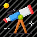 education, school, telescope