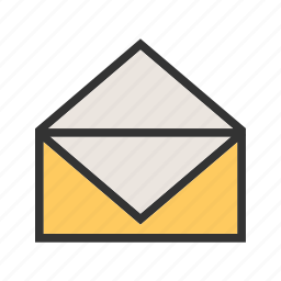 envelope, letter, mail, message, paper, post, send icon