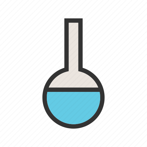 beaker, chemical, flask, glass, lab, laboratory, liquid icon
