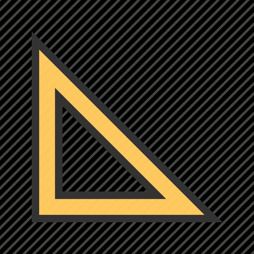 builders, education, equipment, ruler, set, square, squares icon