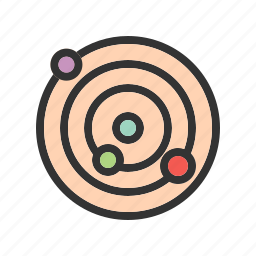atom, atomic, chemical, methane, molecule, research, structure icon