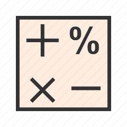education, formula, math, mathematical, mathematics, school, science icon