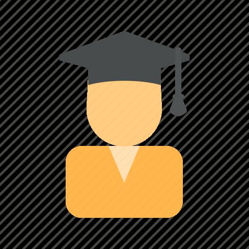 convocation, degree, diploma, education, graduate, graduation, student icon