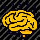 brain, brainstorming, idea icon