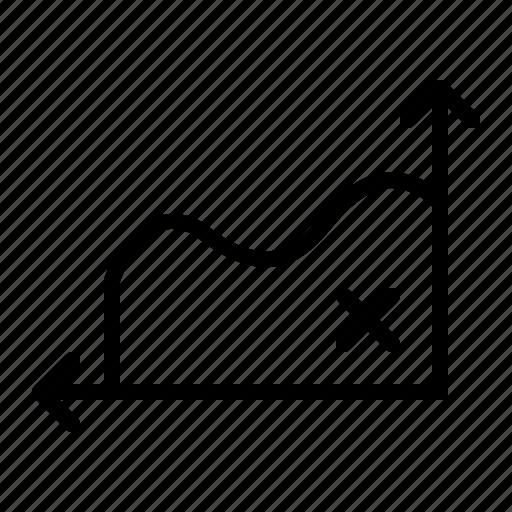 analytics, chart, graph, line, statistics icon