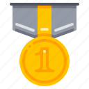 achievement, award, medal icon