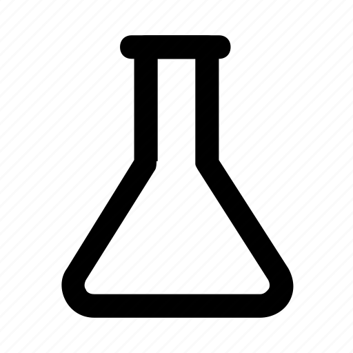 education, experiment, flask, lab, science icon