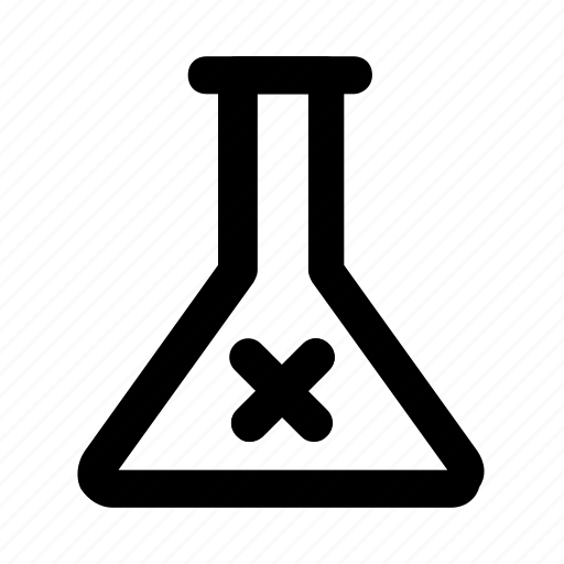 experiment, flask, lab, practical, science icon