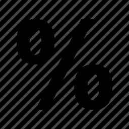 pct, percent, percent sign, percentage, ratio icon