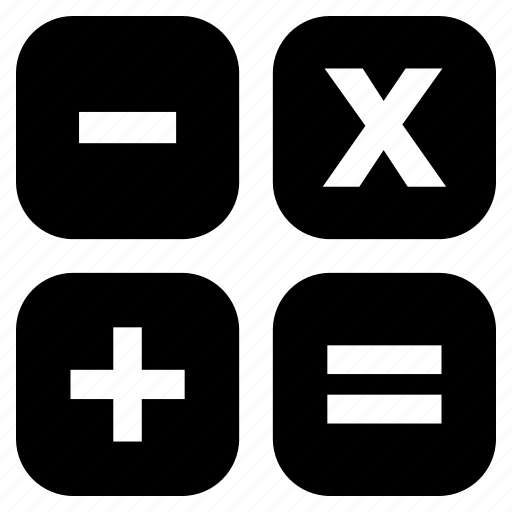 addition, mathematical operations, mathematics, maths, multiplication, subtraction icon
