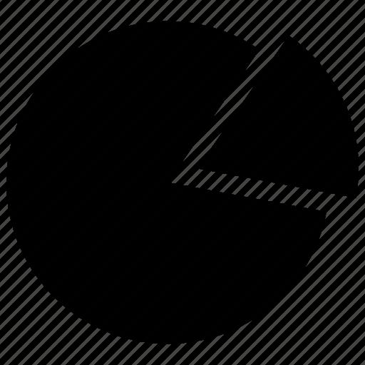 chart, circle chart, graph, graphical circle, graphical record, graphical representation, pie chart icon