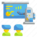 artificial intelligence, automaton, robot, robotics, teaching