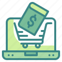 commerce, education, online, pay, shopping icon