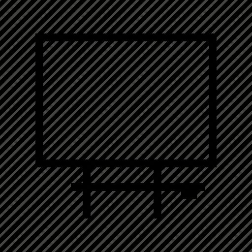 blackboard, education, learning, school, university icon