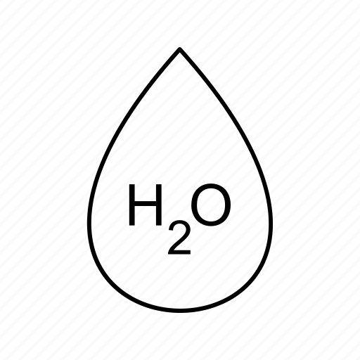 drop, h20, water icon