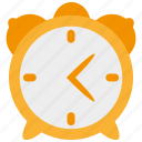 alarm, alert, clock, schedule, time, timer, watch icon