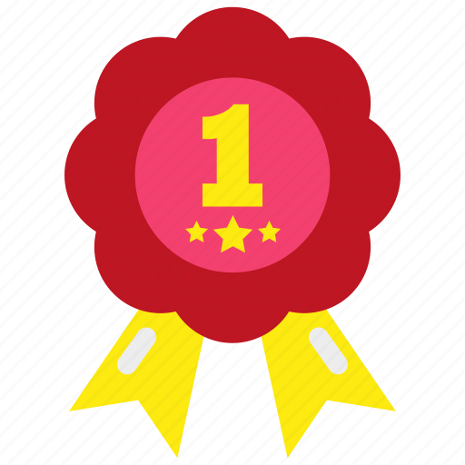 achievement, award, badge, medal, prize, star, winner icon