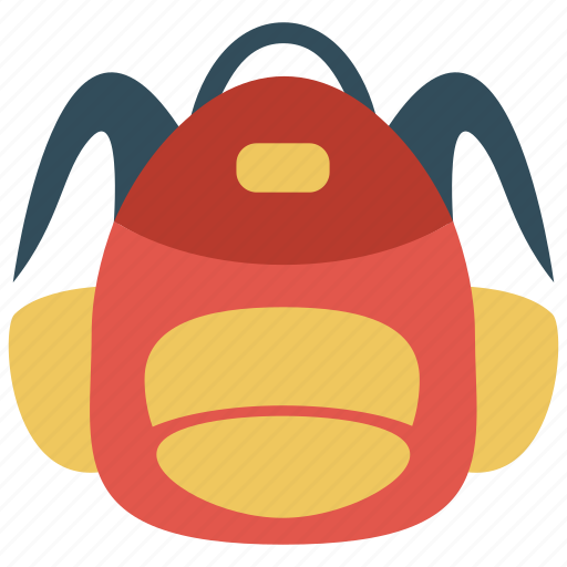 Backpack, bag, school bag icon - Download on Iconfinder