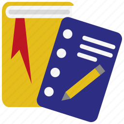 book, books, education, learning, library, school, study icon
