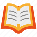book, learning, library icon