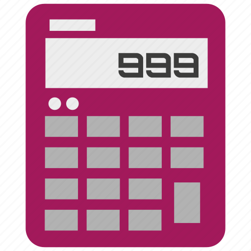 calculate, calculation, calculator, finance, financial, math, number icon