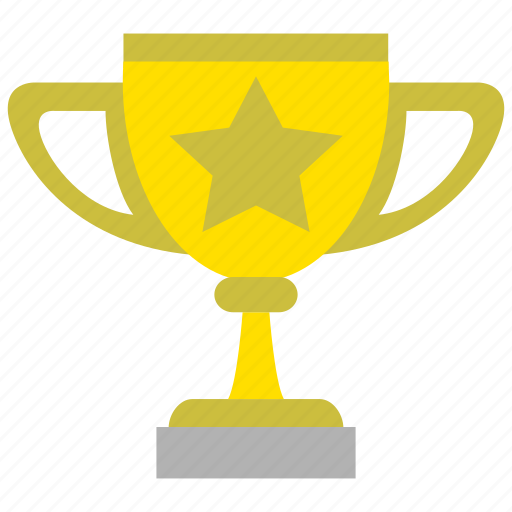 achievement, award, badge, cup, medal, prize, winner icon