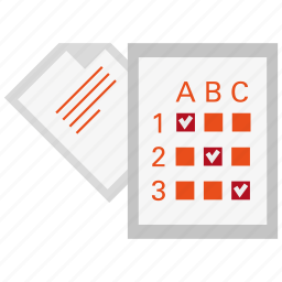 analytics, check, exam, list, mark, report, test icon
