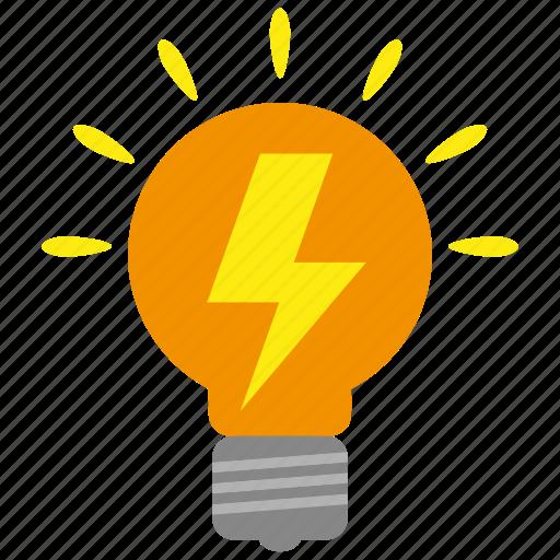 bulb, business, creative, creativity, idea, lamp, light icon